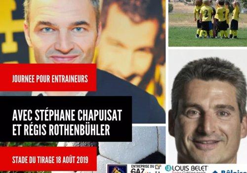 Journée pour entraîneur avec Stéphane Chapuisat et Régis Rothebühler